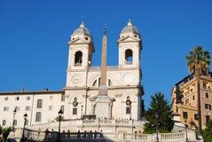 Vue de l'escalier et du dei Monti de Trinita. Piazz Images libres de droits