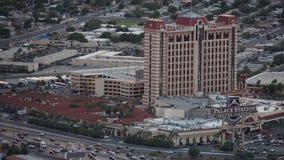Vue de l'hôtel de station de palais de la tour de stratosphère à Las Vegas, Nevada Image stock