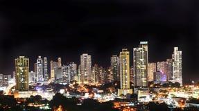 Vue de l'horizon moderne de Panamá City photographie stock