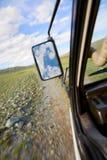 Vue de l'hublot Photographie stock libre de droits