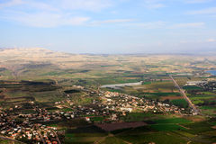Vue de l'Israël Image libre de droits