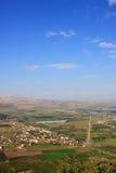 Vue de l'Israël Photographie stock libre de droits