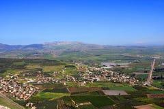 Vue de l'Israël Images stock