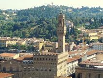 Vue de l'Italie de ville de Firenze gentille image libre de droits