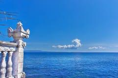 Vue de l'Océan Indien. images libres de droits