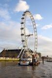 Vue de l'oeil de Londres Image libre de droits
