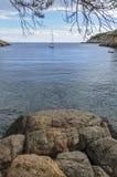 Vue de la baie Photo libre de droits