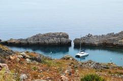 Vue de la baie d'Anthony Quinn Photos libres de droits