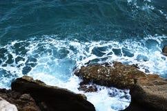 Vue de la baie d'Anthony Quinn Photo stock
