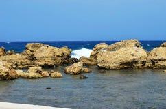 Vue de la baie d'Anthony Quinn Photos stock