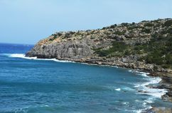 Vue de la baie d'Anthony Quinn Image libre de droits