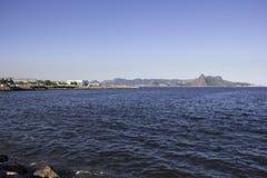 Vue de la baie de Guanabara - navigation olympique Photos libres de droits