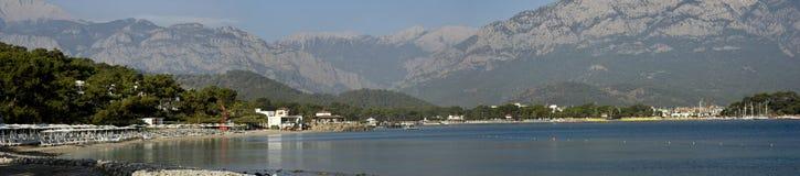 Vue de la baie de Kemer Photos libres de droits