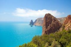 Vue de la côte Photos libres de droits