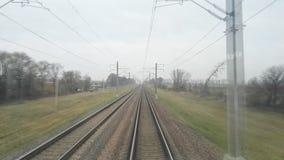 Vue de la carlingue locomotive clips vidéos