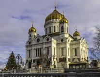 Vue de la cathédrale du Christ le sauveur Photographie stock libre de droits
