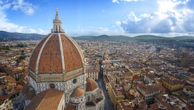 Vue de la cathédrale Santa Maria del Fiore Photo stock
