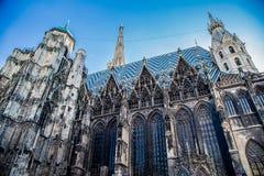Vue de la cathédrale de St Stephen photographie stock libre de droits