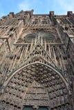 Vue de la cathédrale, Strasbourg images stock