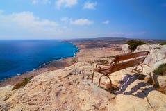 Vue de la Chypre Image stock