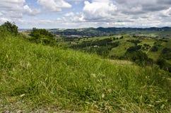 Vue de la colline - Italie du nord Photo libre de droits
