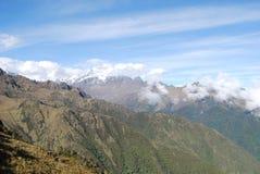 Vue de la Cordillère Urubamba. Cuzco Photos stock