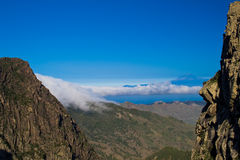 vue de La de gomera photo stock