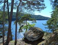 Vue de la falaise Image stock