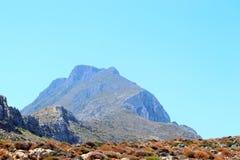 Vue de la Grèce, Crète d'île de panorama de support Images stock