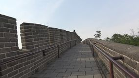 Vue de la Grande Muraille de la Chine photo libre de droits