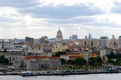 Vue de La Havane Image libre de droits