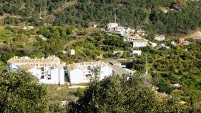Vue de ¡ la laga-Andalousie-Espagne-Europe d'OJEN-MÃ Photos libres de droits