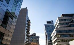 Vue de la ligne élevée, Manhattan Images libres de droits