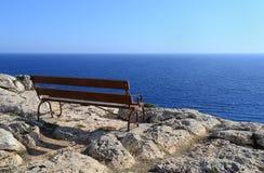 Vue de la mer Images libres de droits