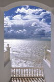 Vue de la mer Images stock