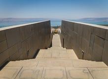 Vue de la mer de la Galilée en Israël Photo stock