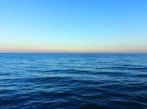 Vue de la mer Méditerranée Images libres de droits