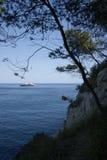 Vue de la mer Méditerranée Photos stock