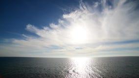 vue de la mer Méditerranée des plages de Calblanque banque de vidéos