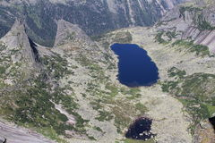 Vue de la montagne Image stock