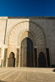 Vue de la mosquée Hassan 2 Image libre de droits