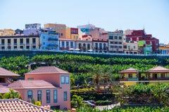 Vue de La Palma de Tazacorte image libre de droits