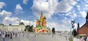 Vue de la place rouge à Moscou, Russie photo libre de droits