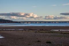 Vue de la plage photos libres de droits