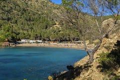 Vue de la plage Image libre de droits