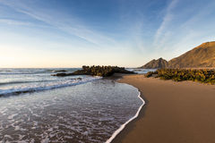 Vue de la plage d'Amoreira dans Costa Vincentina dans l'Alentejo, Portugal Photos libres de droits