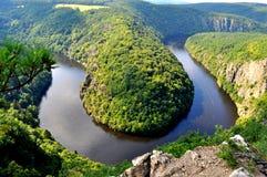 Vue de la rivière Photos stock
