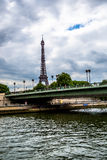 Vue de la rivière la Seine Photo libre de droits