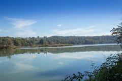 Vue de la rivière le Tibre Image libre de droits