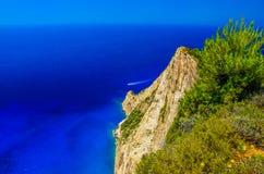 Vue de la roche à la mer Photos libres de droits